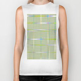 square countryside Biker Tank