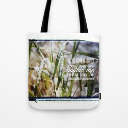 Invincible Summer. Tote Bag