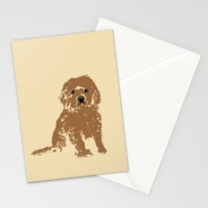 Cockapoo dog art Stationery Cards