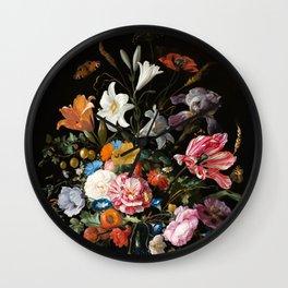 Still Life Floral #2 Wall Clock