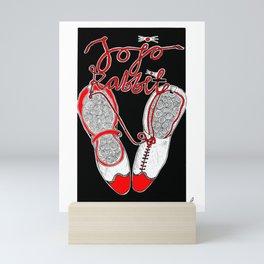 Jojo Rabbit - Alternative Movie Poster Mini Art Print