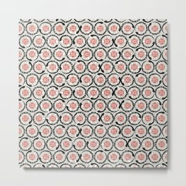 Asian Snake Pattern Metal Print