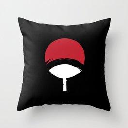Uchiha Clan Logo Throw Pillow