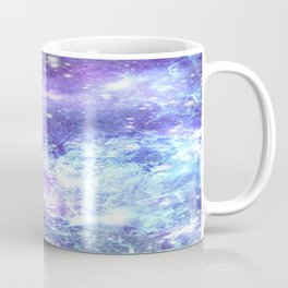 Grunge Galaxy Lavender Periwinkle Blue Coffee Mug