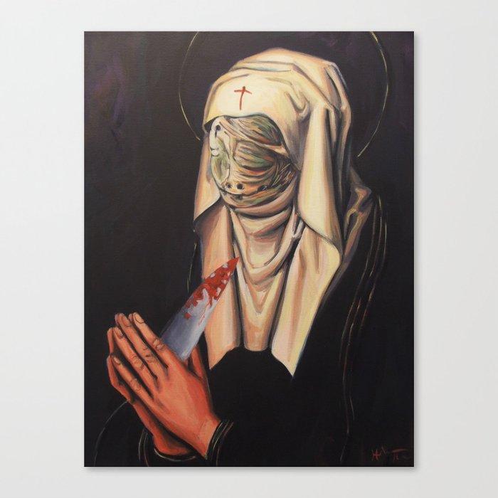 Nurse Dolorosa Canvas Print