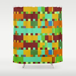 Chopin Fantaisie Impromptu (Intense Colours) Shower Curtain