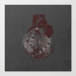 tin heart Canvas Print