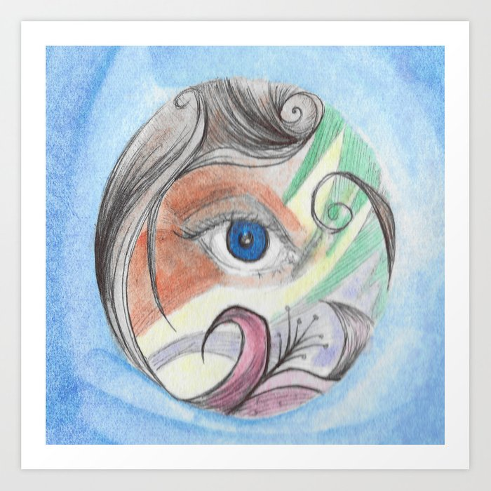 Color Vision Art Print