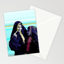 two broke girls Stationery Cards
