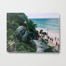 Playa Paraiso II Metal Print