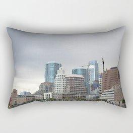 Downtown San Francisco, Changing Skyline Rectangular Pillow