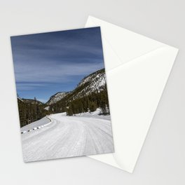 Carol Highsmith - Snow Covered Road Stationery Cards