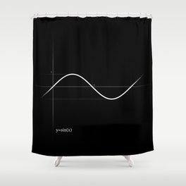 Pure Sine Shower Curtain