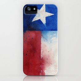 Flag of Texas iPhone Case