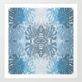 Jungle blues Art Print