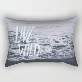 Live Wild: Ocean Rectangular Pillow