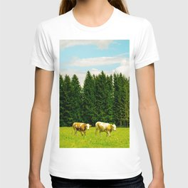 Doing the cow walk T-shirt