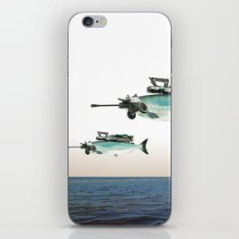 atmosphere · the flying fish iPhone Skin