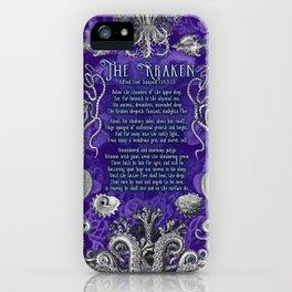 The Kraken (Purple) iPhone Case