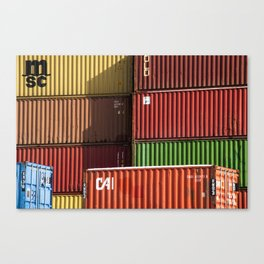 Pointe St. Charles Shipping Containers Canvas Print