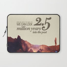 LOOK INTO THE PAST - Andromeda   Space   Time   Stars   Science   Planets   Million   Years   Travel Laptop Sleeve