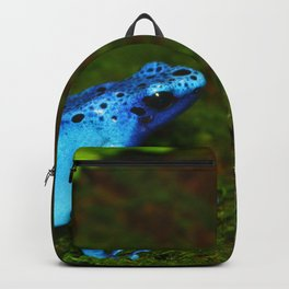 Blue Poison Dart Frog Backpack