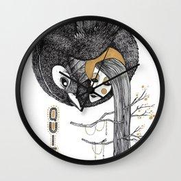 BIRD WOMEN 4 Wall Clock