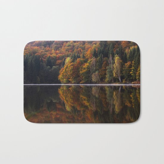 Autumn Lake Bath Mat
