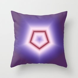 Fractal Poly in DPA 01 Throw Pillow