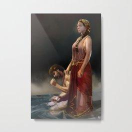 "Calypso(""Charm of of the Ancient Enchantress"" Series) Metal Print"