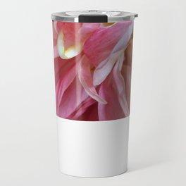 Pale pink peonies - botanical series up close and personal Travel Mug