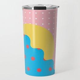 Memphis Style N°6 Travel Mug