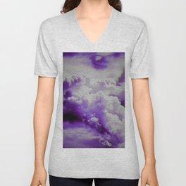 Clouds Unisex V-Neck