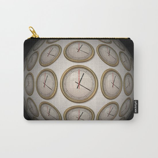 Time Time Time Carry-All Pouch