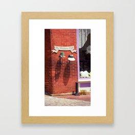 Jonesborough, Tennessee - Wedding Shop 2008 Framed Art Print