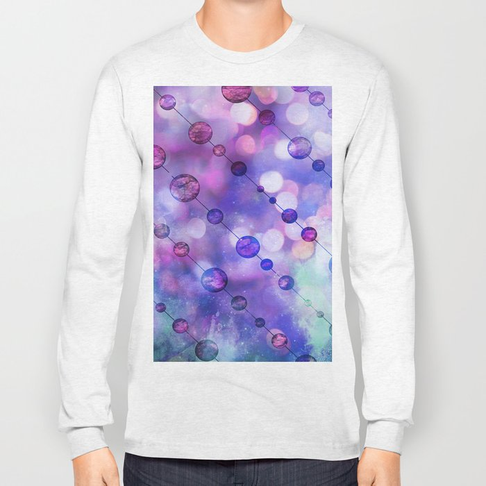 Color Beads and light Long Sleeve T-shirt