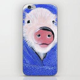 Piglet in a Blanket iPhone Skin