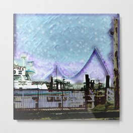 Winter Day at theBay Metal Print