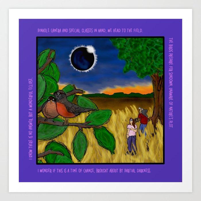 Solar Eclipse Dream Art Print