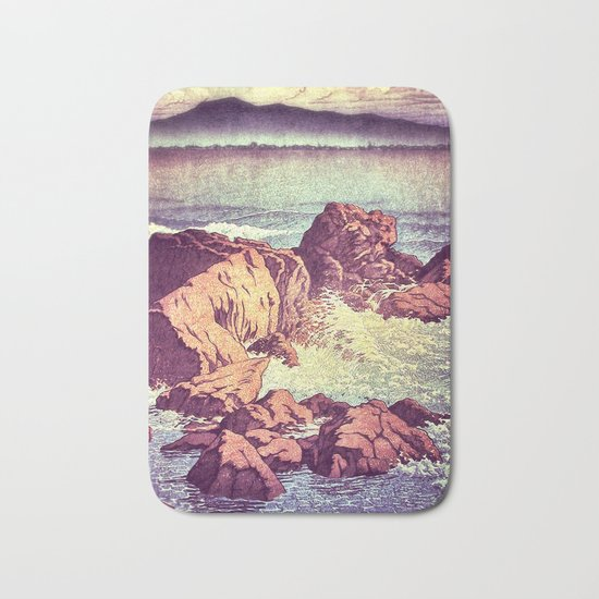 Stopping by the Shore at Uke Bath Mat