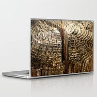 tree rings Laptop & iPad Skins featuring Tree Rings by tracy-Me