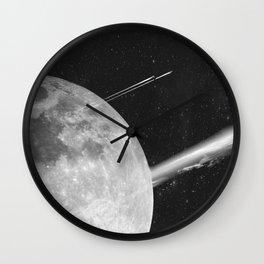 Space Mission-Hyperloop Wall Clock