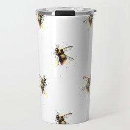 Bumblebee pattern Travel Mug
