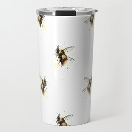 Bumblebee pattern Travel Mug