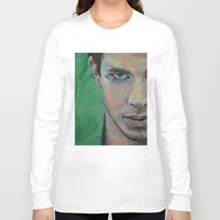 street fighter Long Sleeve T-shirts featuring Fighter by Michael Creese