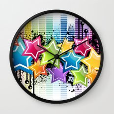 Super Freak! Super Freaky! Wall Clock