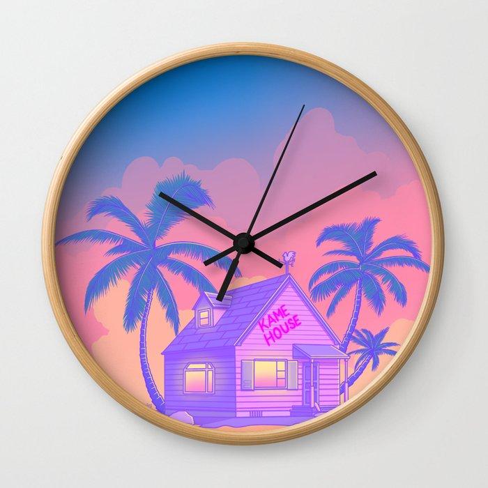 80s Kame House Wall Clock