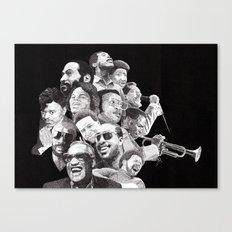 Soul Hero's Canvas Print