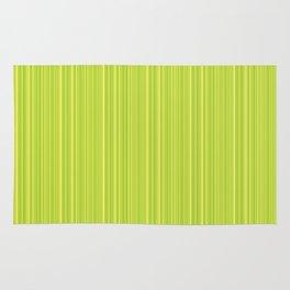 Lime Green Pinstripe Rug