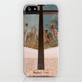 Magellans Cross, Cebu, Philippines iPhone Case